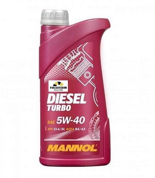 MANNOL 5W40 Diesel-Turbo 1л синтетика