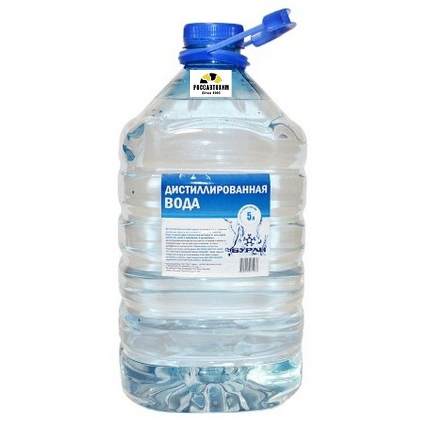 Вода  дист. 5л