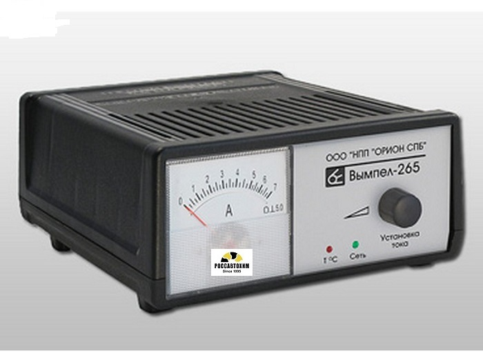 """Зарядное устройство """"Вымпел-265""""  (6А) НПП""""ОРИОН"""" СПБ"""