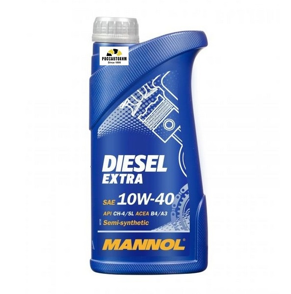 MANNOL 10W40 Diesel-Extra 1л п/с