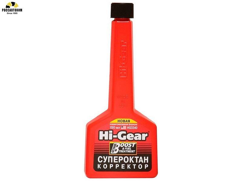 Присадка в топливо для повышения октановго числа HG-3340 (60л) 150мл.