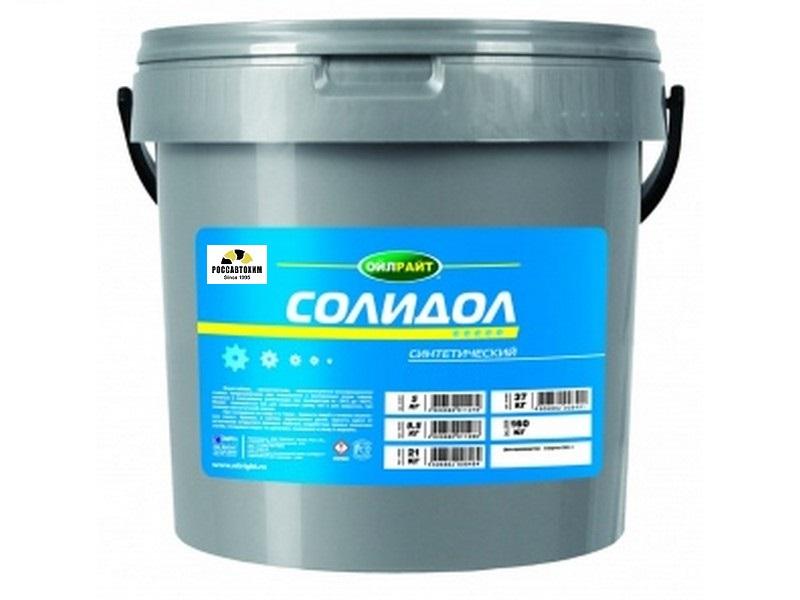 Солидол синт. OILRIGHT 2,1 кг