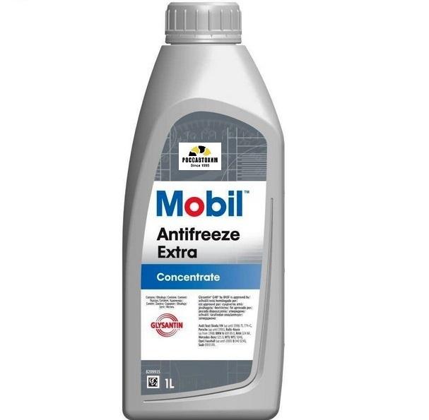 MOBIL Antifreeze Extra 1л (сине-зелёный)
