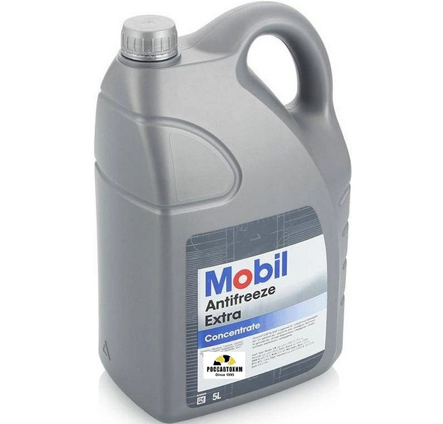 MOBIL Antifreeze Extra 5л (сине-зелёный)