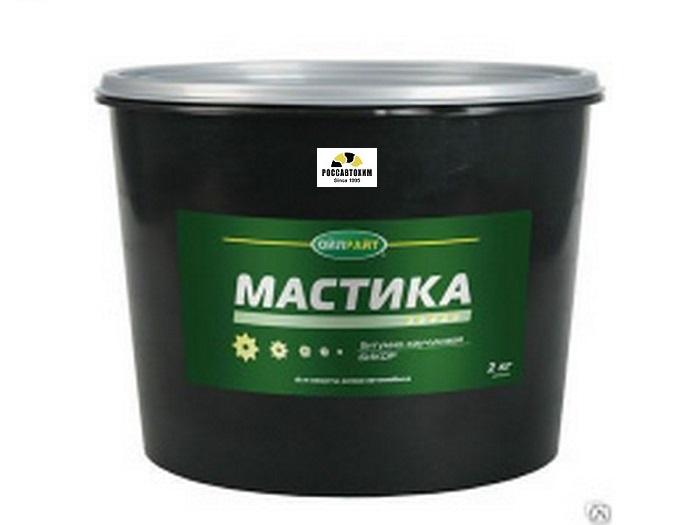 """Мастика  """"Бикор"""" 2кг пласт. банка (уп. 8шт.)"""