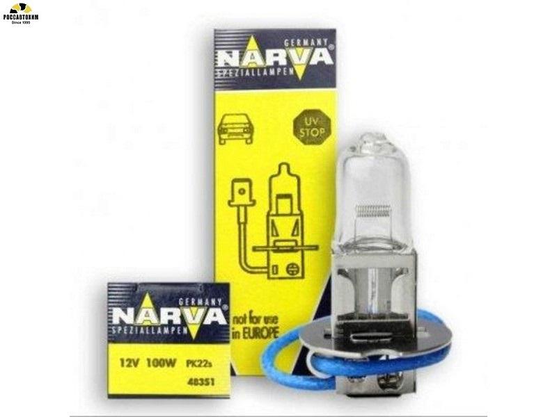 Лампа NARVA H3 48351 100 Вт 12В