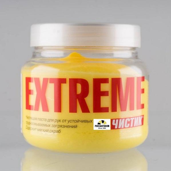 """Чистик """"Экстрим"""" 450мл (супер) жёлтый"""