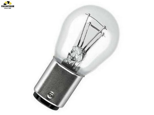 Лампа  МАЯК 62415 24-21+5, ВАY15d (2-ух.комп.)