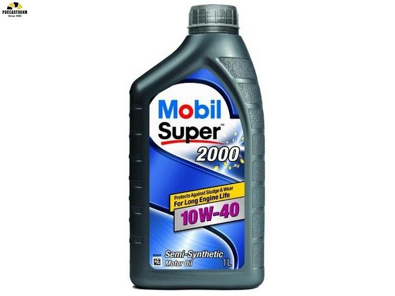 MOBIL SUPER 2000 X1 10W40 1л п/с (-30/+230)