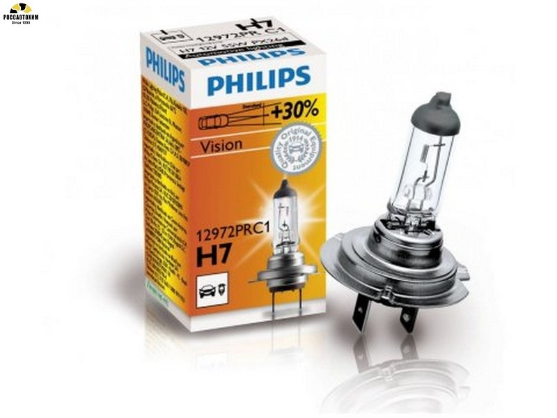 Лампа  PHILIPS H7 12972 PRC1  55W,12В