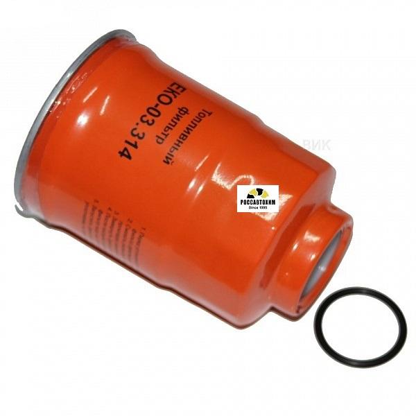 Эл-нт фильтр.топливный ЕКО-03.314 (ISUZU) NQR75 Евро3 грубой очистки(WK940/11x)