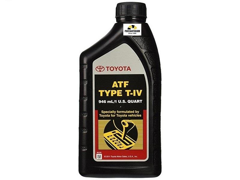 TOYOTA ATF Type-IV  0.946л  (для автомат. коробок передач) /00279-000T4-01/