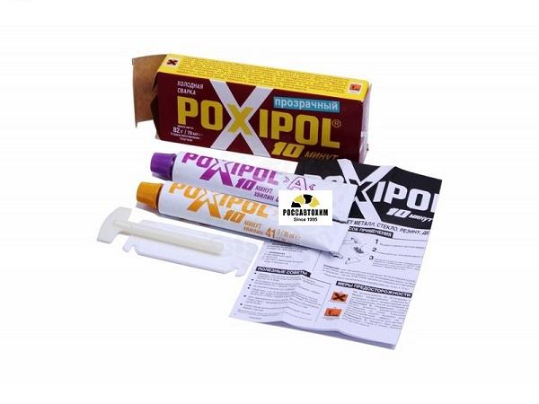 "Холодная сварка ""POXIPOL"" 70мл (10 мин.) прозрачный"