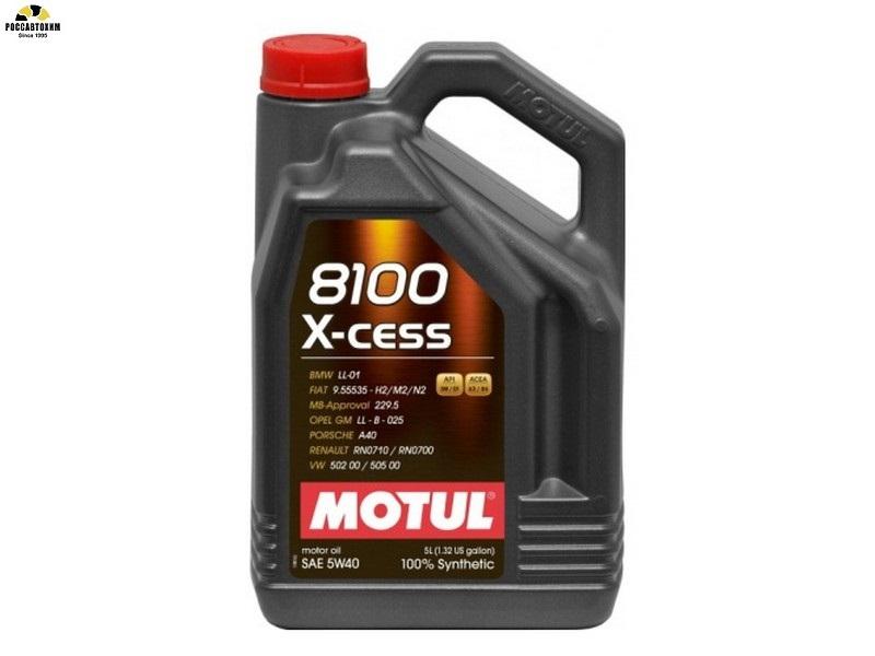 MOTUL 8100 X-cess 5w40 A3/B4 5л /102870/