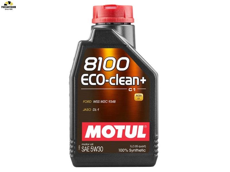 MOTUL 8100 Eco-Clean PLUS 5w30 A5/B5/C1 1л /101580/