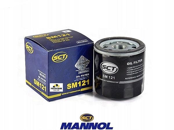 Фильтр масляный Mannol SM 121 Ford, Kia, Mazda