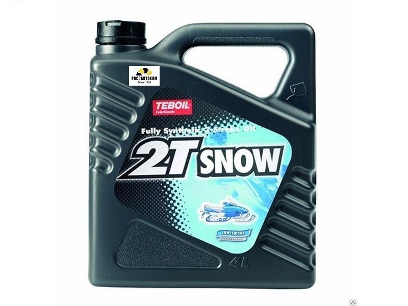 TEBOIL  2T Snow (масло двухтактное) 4л синт.
