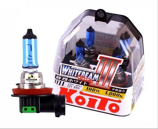 "Лампа  головного света ""KOITO"" KILA-20033 H11 12V 55W (100W) (Other Brand)  P0750W 2шт."