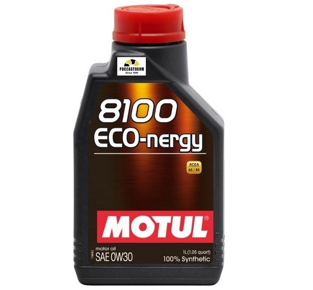 MOTUL 8100 Eco-nergy 0w30 A5/B5 1л  /102793/