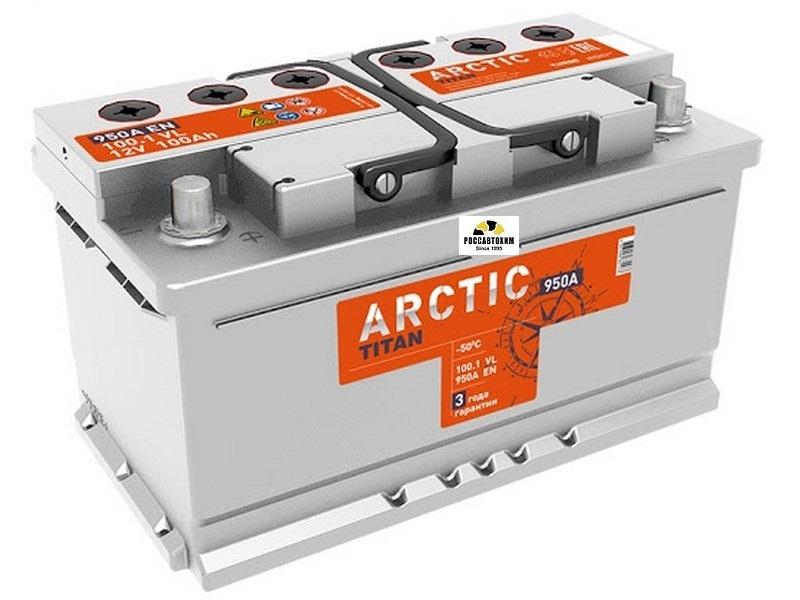 АКБ Титан-Арктик Silver 6СТ-100.1 п/п  100 А/ч