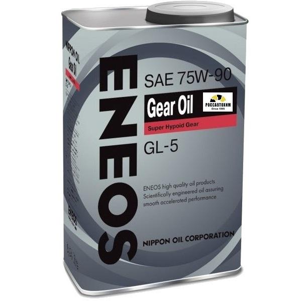 ENEOS GEAR OIL GL-5 80w90 (трансм.) 0,94л