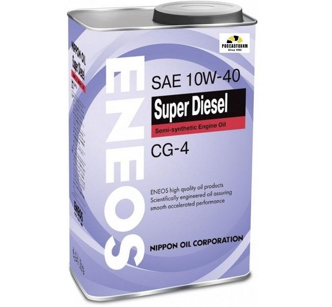 ENEOS  Super DIESEL 10w40 CG-4  0,94л п/с