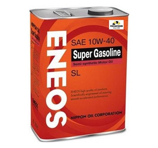 ENEOS  Super GASOLINE 10w40 SL  0,94л п/с