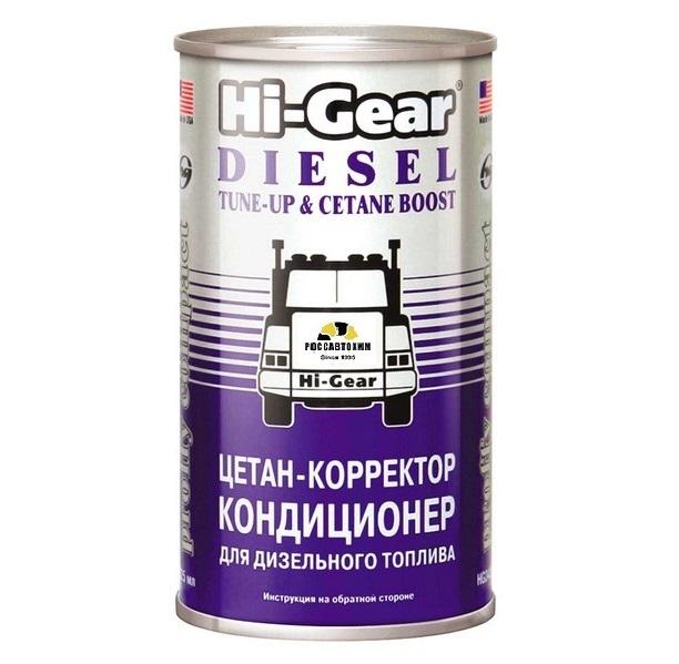 Цетан-корректор для диз.топлива  HG-3435  /325 мл/