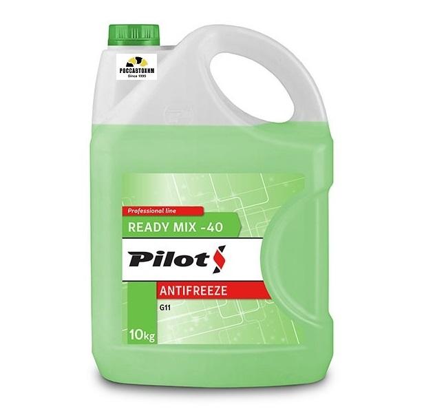 PILOTS Антифриз  GREEN LINE -40  10кг Зеленый