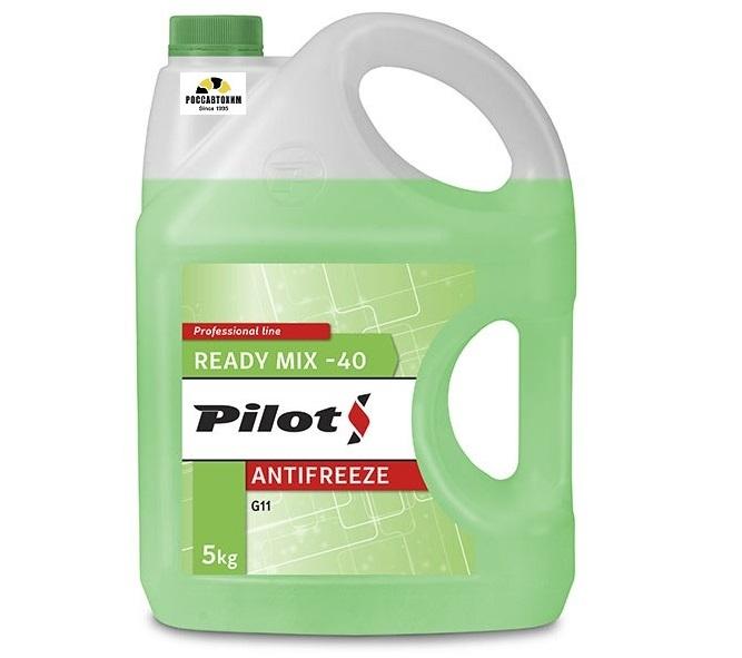 PILOTS Антифриз  GREEN LINE -40  5кг