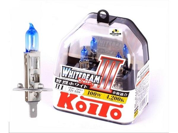 "Лампа  головного света ""KOITO"" KILA-07032 H1 12V 55W (100W) P0751W 2шт."