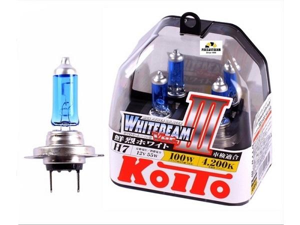 "Лампа  головного света ""KOITO"" KILA-07037 H7 12V 55W (100W) P0755W 2шт."
