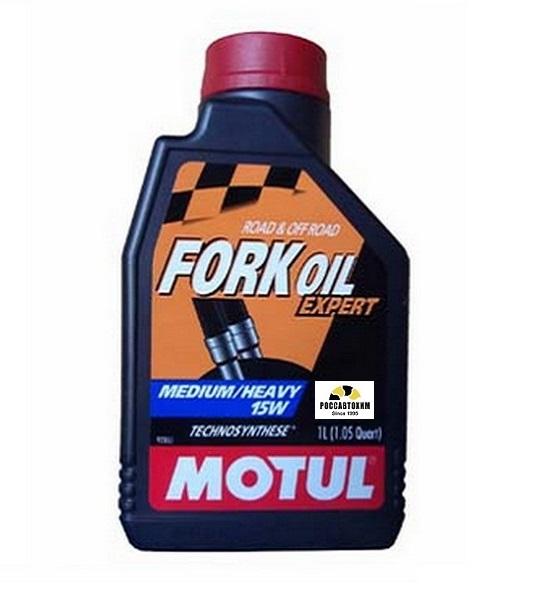 MOTUL  Вилочное масло Fork Oil Expert M/h 15W 1л  /105931/