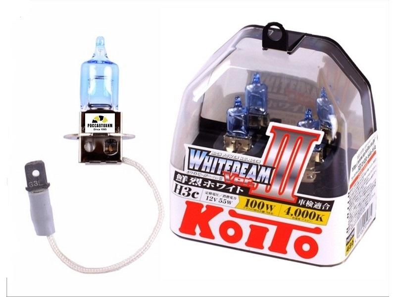 "Лампа  головного света ""KOITO"" KILA-07038 H3 12V 55W P0752W 2шт."