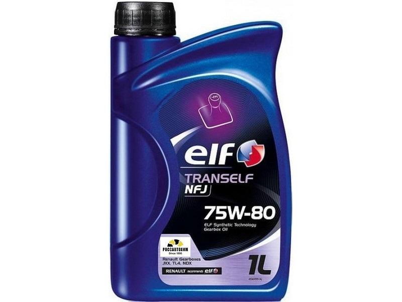 ELF TRANSELF NFJ 75W80  синт. 1л GL-4