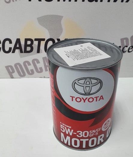 TOYOTA Motor Oil  5W30  SN/CF-5 1л  п/с (08880-10706) /3626