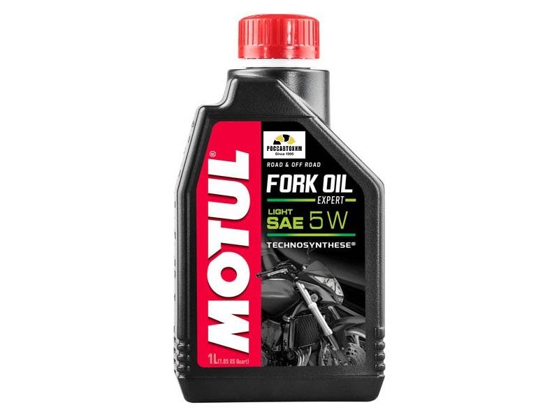 MOTUL  Вилочное масло Fork Oil Expert Light 5W 1л  /105929/101142