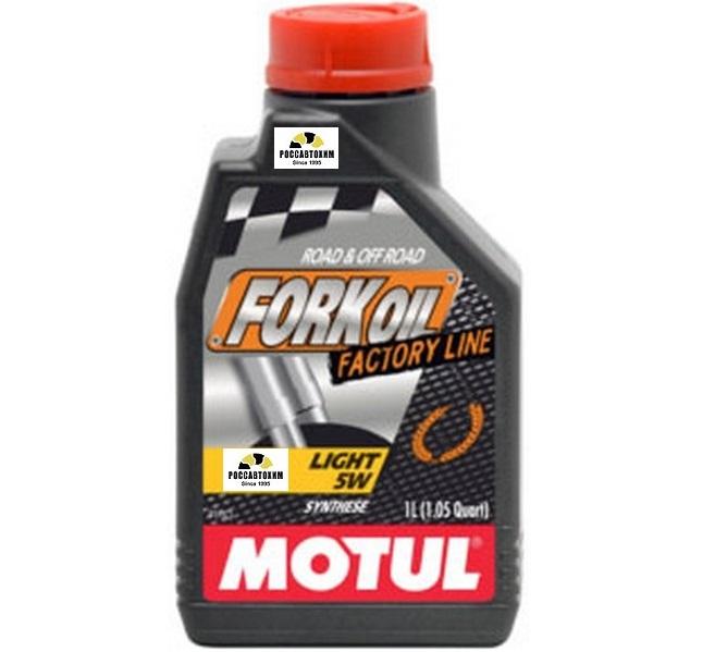 MOTUL  Вилочное масло Fork Oil FL Light 5W 1л  /101130/105924
