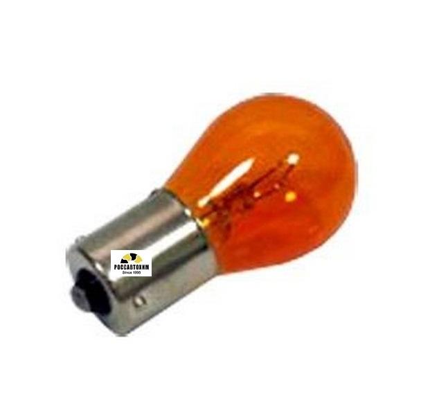 Лампа  МАЯК 61218 12В 21Вт оранж, смещенный, BAU15s