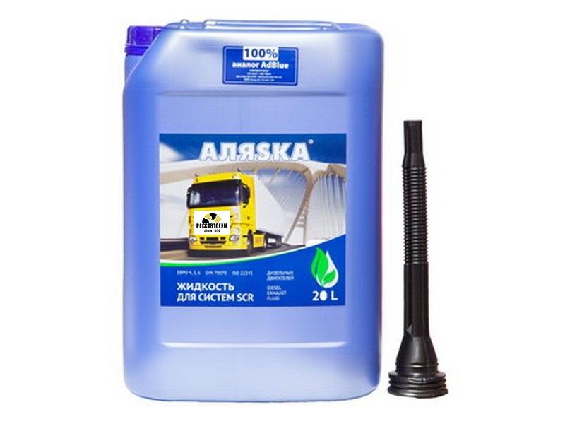 Водный р-р Жидкость для систем SCR  Аляска (мочевина) 20л