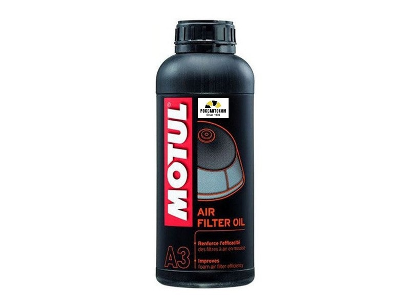 MOTUL Смазка возд. фильтров Air Filter Oil 1л /102987/ 108588