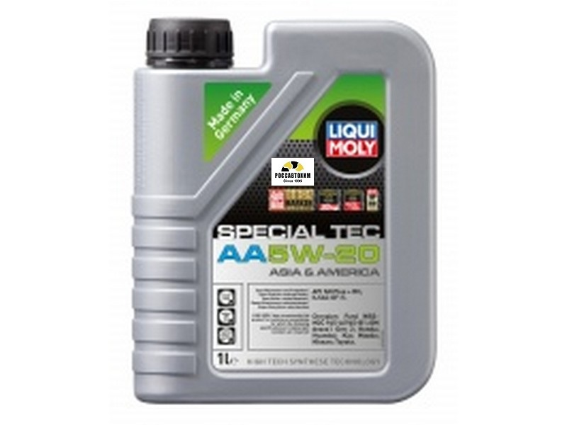 7620 LIQUI MOLY масло моторное Leicht.Special AA 5W20, 1л