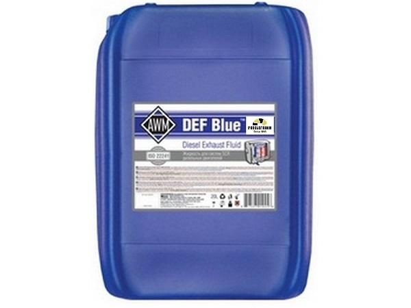 Водный раствор для систем  SCR AWM DEF Blue 20 литров