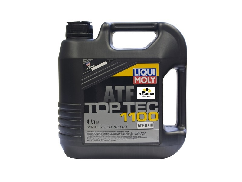 7627  LIQUI MOLY масло для АКПП Top Tec ATF  1100, 4л