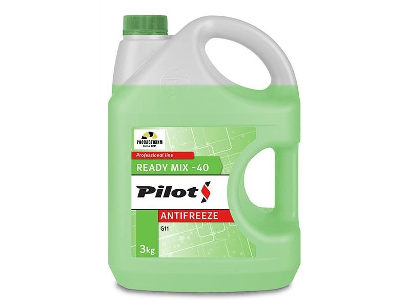 PILOTS Антифриз  GREEN LINE -40  3кг