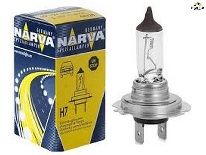 Лампа NARVA H7 48728 70Вт,24В