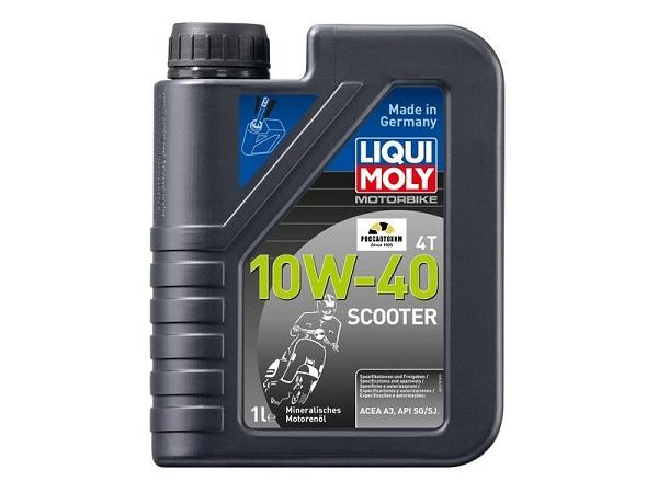 1618 LIQUI MOLY масло скутер Racing Scooter 4T 10W40  1л
