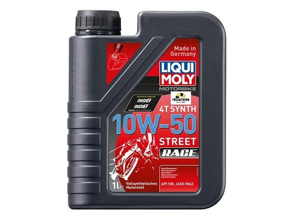 3982 LIQUI MOLY масло 4-такт.мото. Motorrad Synth 4T 10W50 SL,  1л