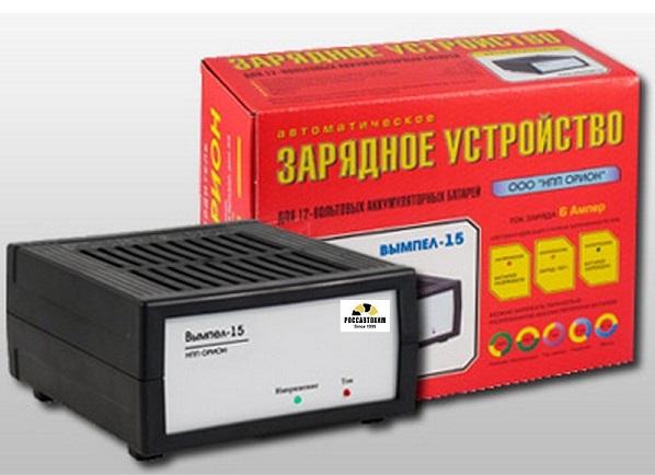 """Зарядное устройство """"Вымпел-15"""" (автомат 6А, 12В)"""