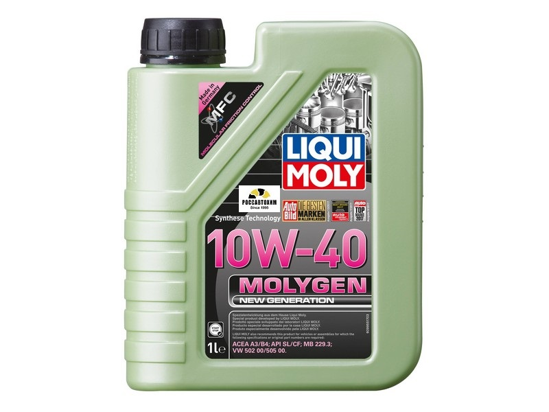 9059  LIQUI MOLY масло моторное Молиген 10W40, 1л